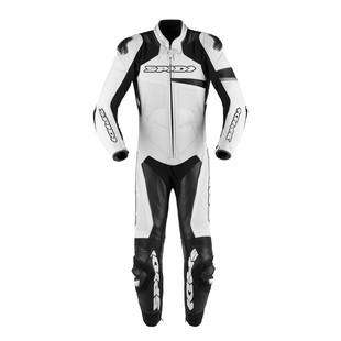 Spidi Race Warrior Pro Perforated Race Suit (Color: White/Black / Size: 54) 1247846
