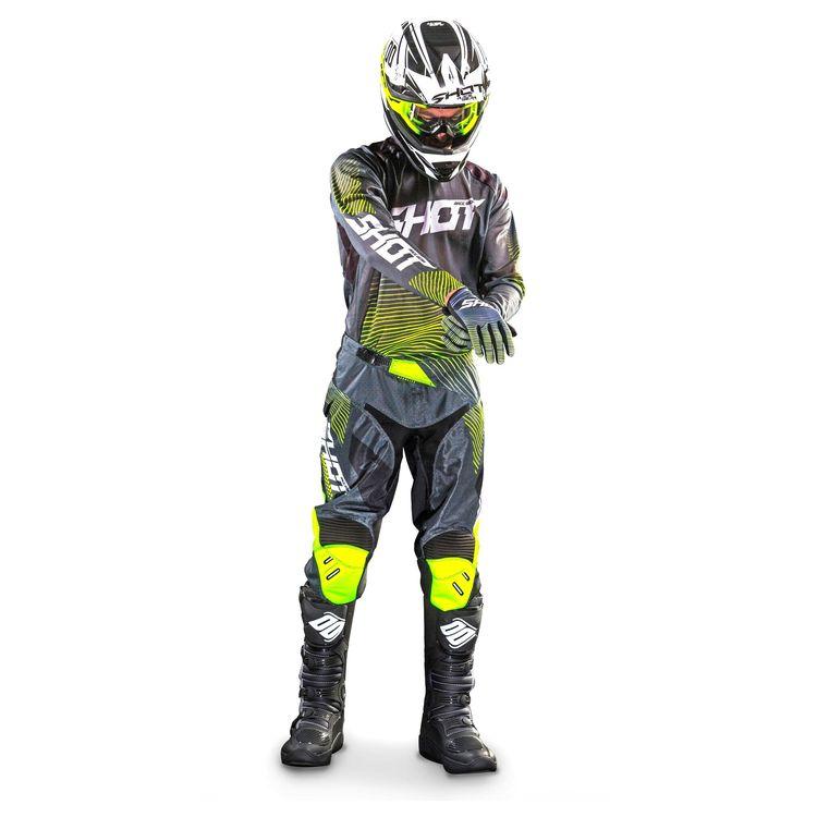 Hi-Viz Yellow/Grey
