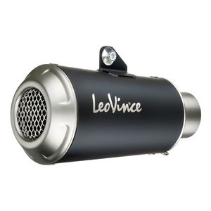 Leo Vince Nero Slip-On Exhaust Stainless Steel for 17-20 Kawasaki ZR900ABS
