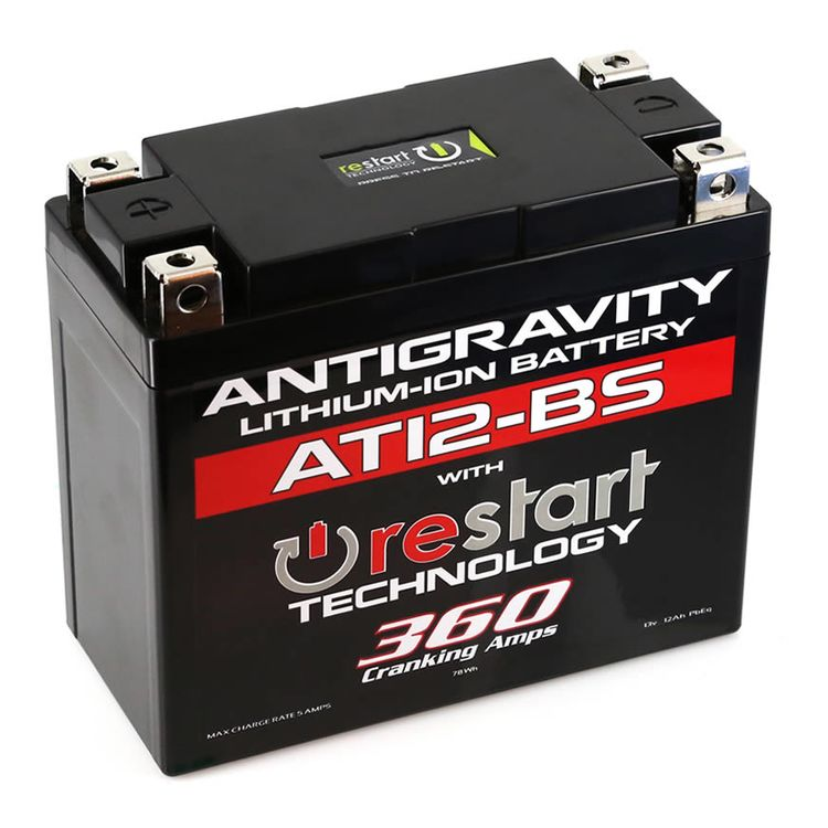 Antigravity AT12-BS ReStart 360CA Lithium Ion Battery