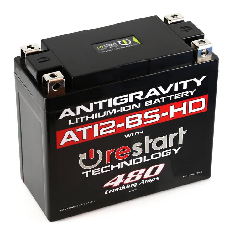 Antigravity AT12-BS-HD ReStart 480CA Lithium Ion Battery