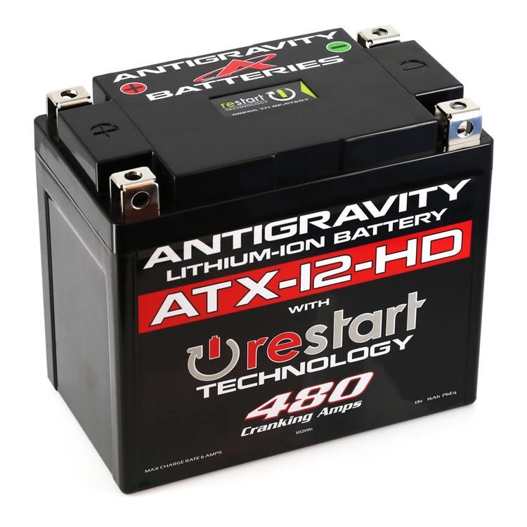 Antigravity ATX-12-HD ReStart 480CA Lithium Ion Battery