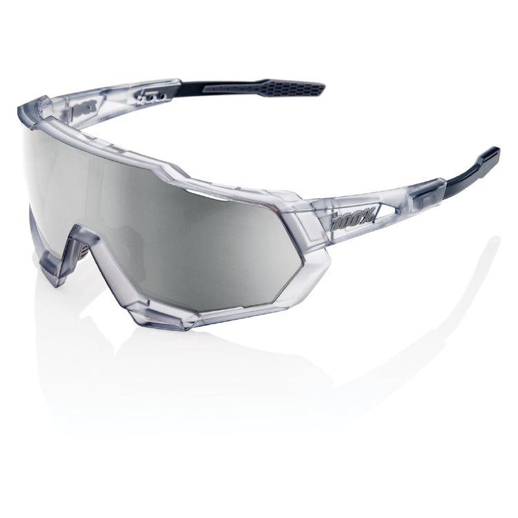Matte Translucent Crystal Grey w/ HiPER Sport Silve Mirror Lens