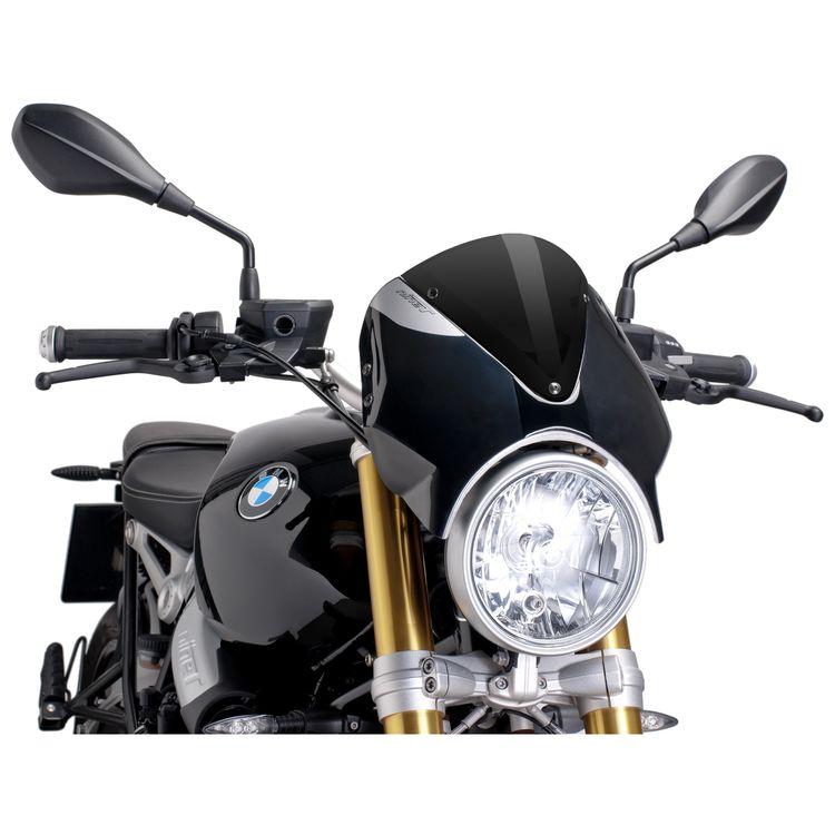Engine Guard Crash Bar Protector Black For 2013-2017 BMW R Nine T NineT R9T