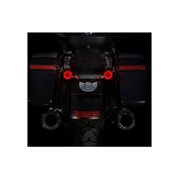 Custom Dynamics ProBEAM LED Rear Turn Signal Inserts For Harley