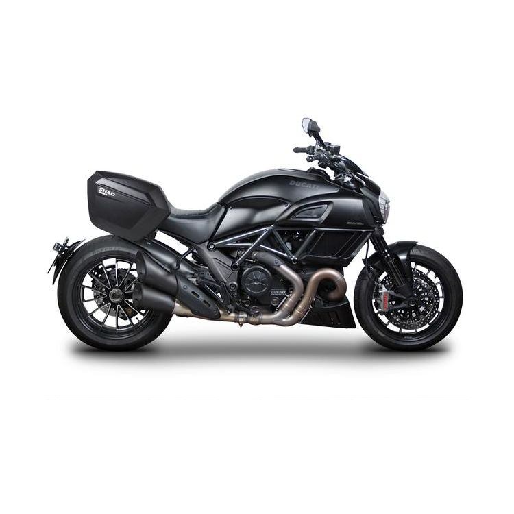 Shad 3P System Side Case Racks Ducati Diavel 2012-2018