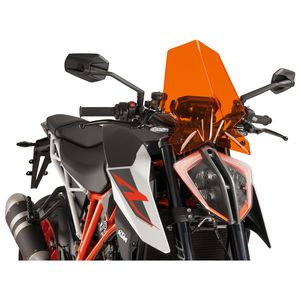 Puig Touring WINDSCREEN for KTM 1290 SUPERDUKE GT 16-17 C//Clear