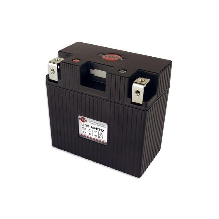 Shorai Lithium Battery LFX21A6-BS12
