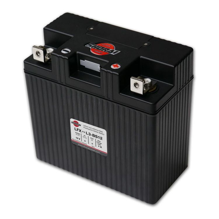 Shorai Lithium Battery LFX24L3-BS12