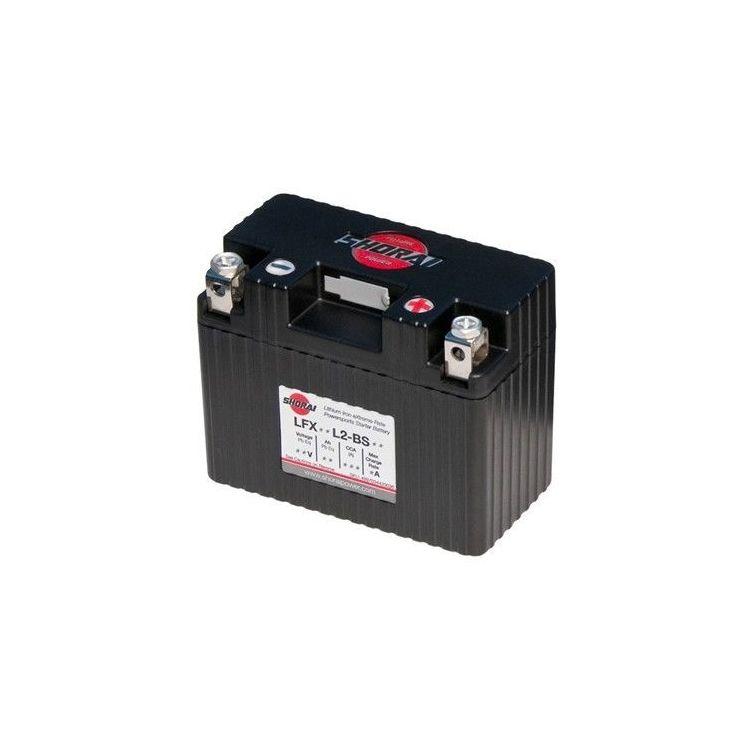 Shorai Lithium 6 Volt Battery LFX18L2-BS06