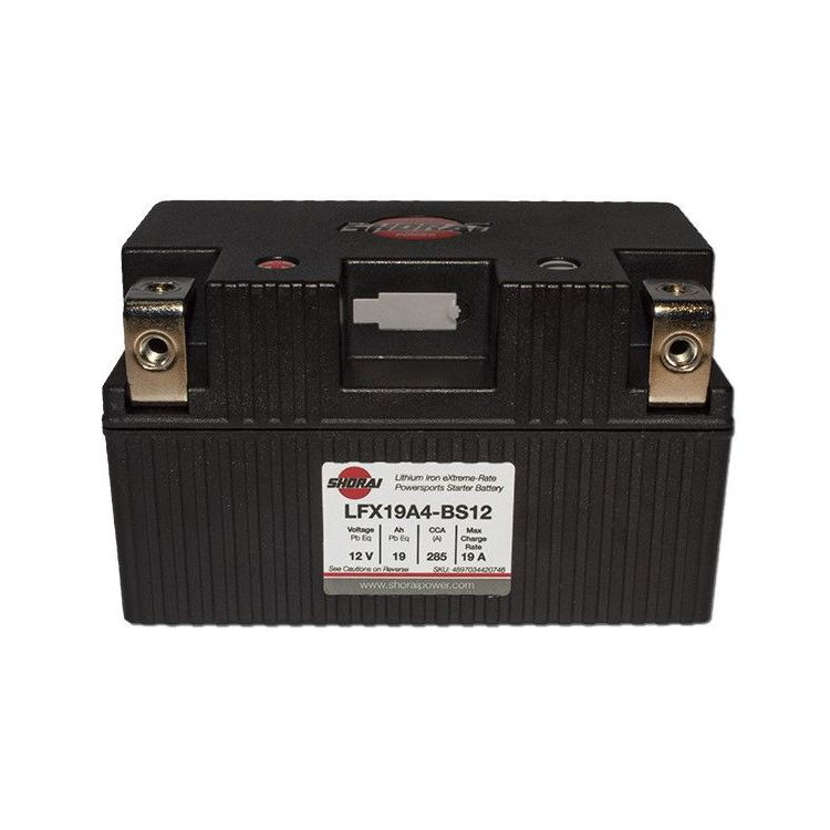 Shorai Lithium Battery LFX19A4-BS12