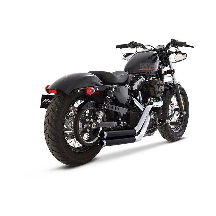 Rinehart Cross Backs Exhaust For Harley