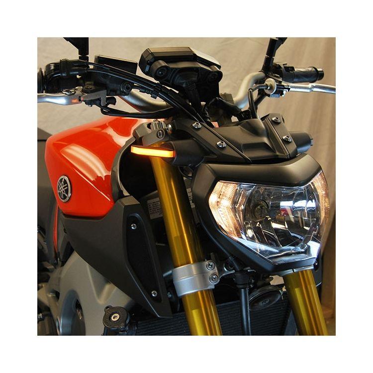 New Rage Cycles LED Front Turn Signals Yamaha FZ-09 2014-2016