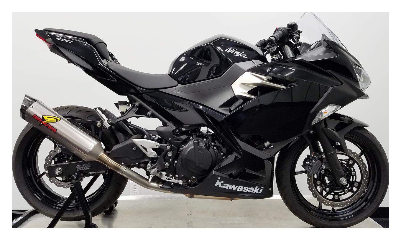 Pro Taper Handlebars >> Graves Hexagonal Slip-On Exhaust Kawasaki Ninja 400 / Z400 ...