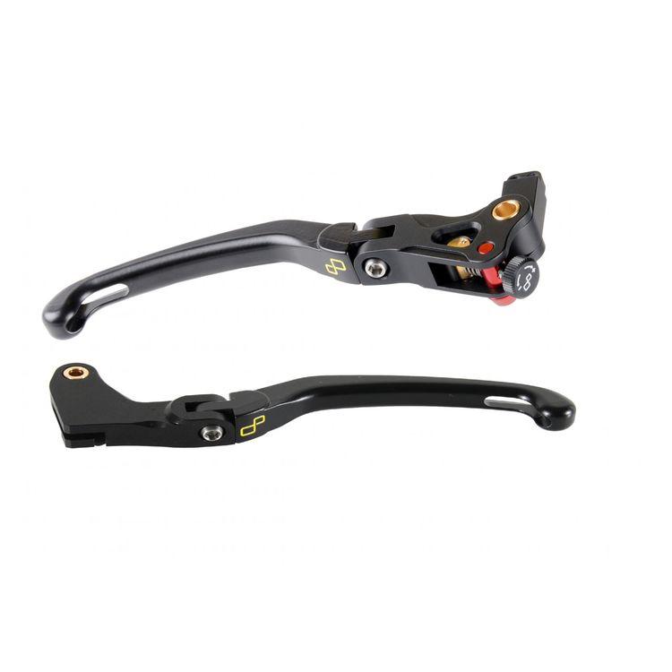 LighTech Magnesium Folding Brake & Clutch Lever Kit Kawasaki Ninja 300 / 400 2013-2018-2021