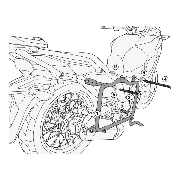 Givi Pl4121 Side Case Racks Kawasaki Versys 300 2017 2018