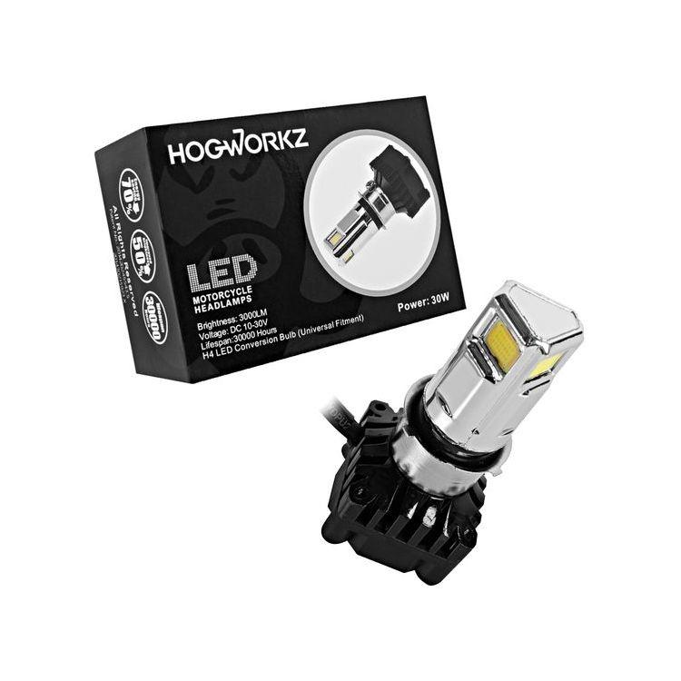 HogWorkz H4 LED Headlight Bulb