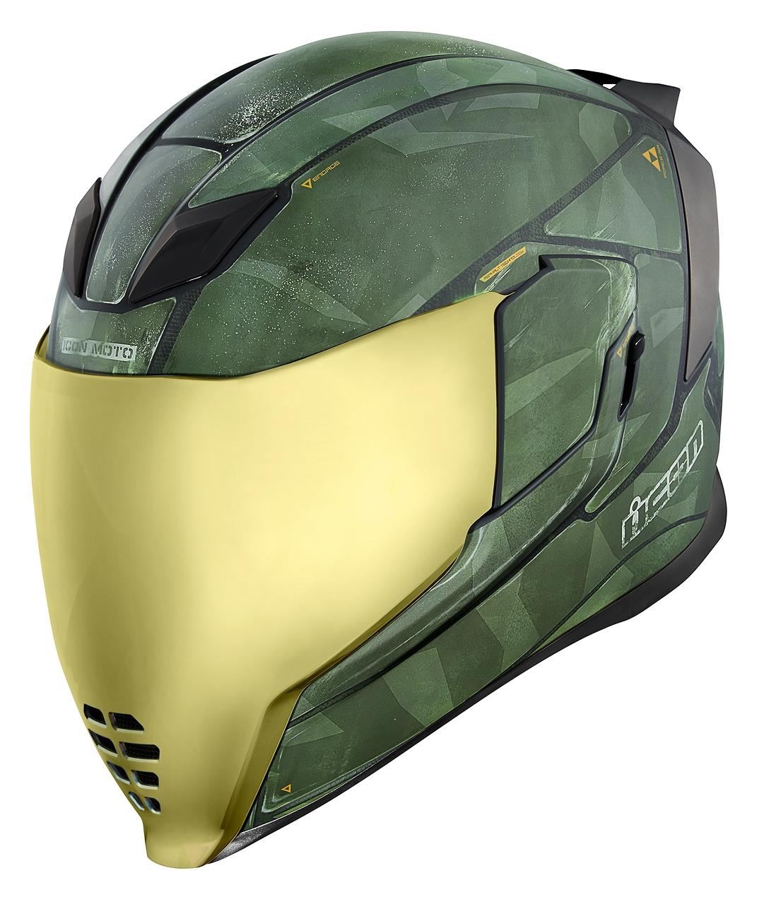 Icon Airflite Battlescar 2 Helmet Cycle Gear