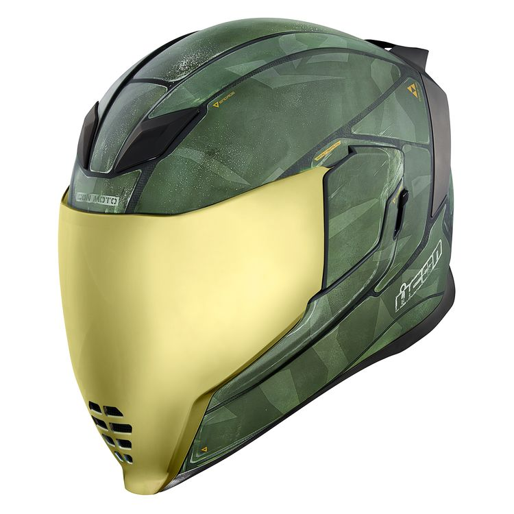 Icon Airflite Battlescar 2 Helmet Cycle Gear