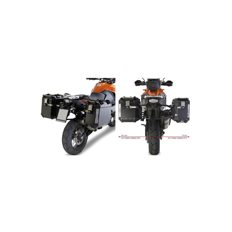 Givi PL7705CAM Outback Side Case Racks KTM 1090 / 1190 Adventure / R / 1290 Super Adventure 2013-2019