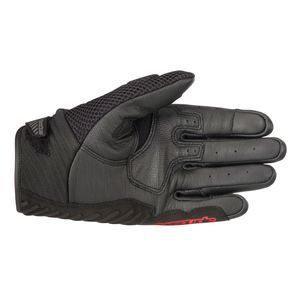 First Mfg Co Mens Basin Leather Motorcycle Gloves Black 2X-Large