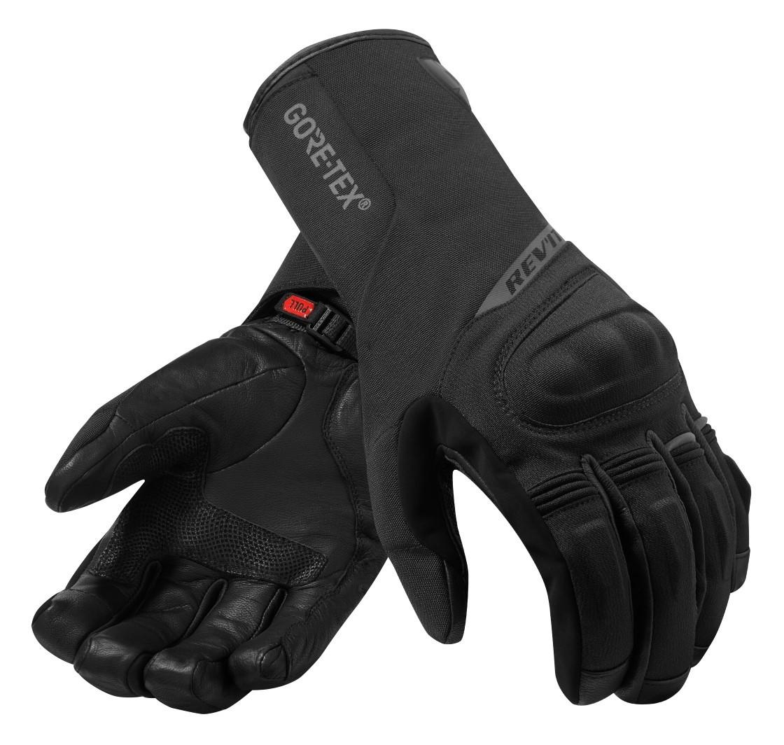 JET Motorcycle Motorbike Gloves Premium Full Leather Gauntlet Race Hard Knuckle Gloves M, Black//White