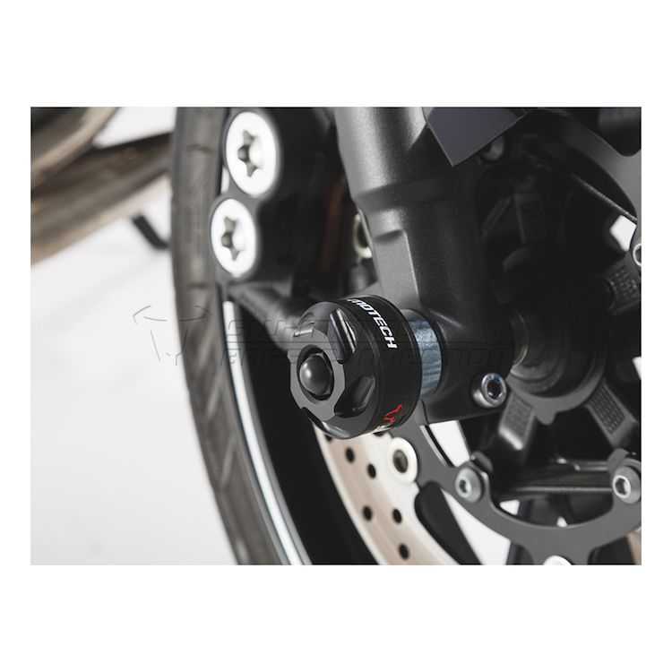 SW-MOTECH Front Axle Sliders Yamaha FZ-09 / MT-09 2017-2020