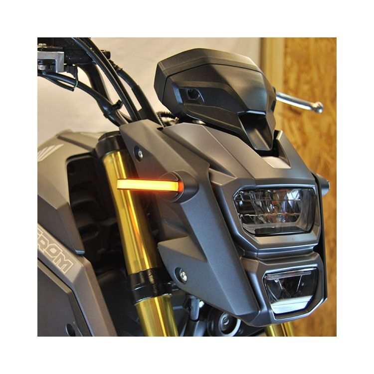 New Rage Cycles LED Front Turn Signals Honda Grom 2014-2019