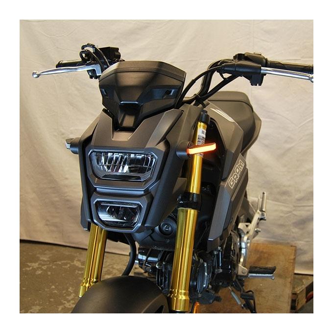 Grommet and Plug KT 2JJ35100AK 2LB 2KL-35100AK AMBER Oval 6 Sealed LED Turn Signal and Parking Light Kit with Light