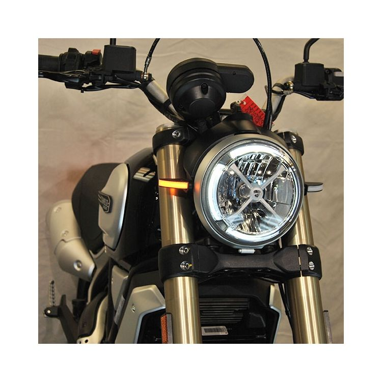 Ducati Scrambler Front Turn Signals New Rage Cycles