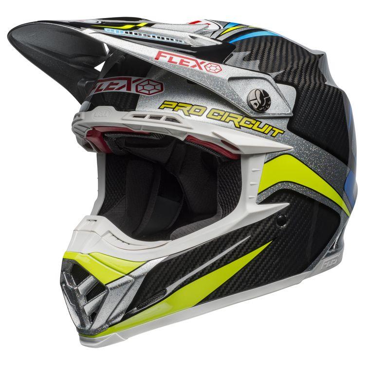d195c719 Bell Moto-9 Carbon Flex Pro Circuit 2019 Replica Helmet. Write a Review.  Black/Green