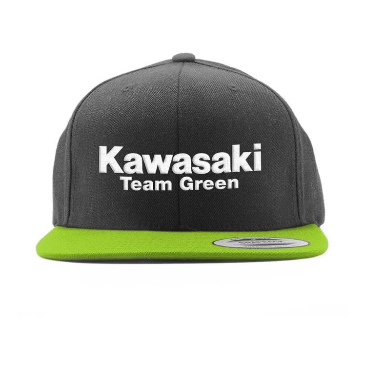 fedc5208e0776 Factory Effex Kawasaki Team 2 Snapback Hat. Write a Review. Green