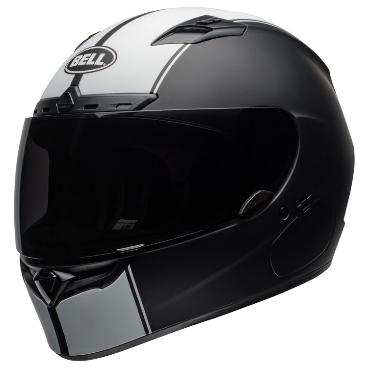 Bell Qualifier DLX Helmet Review at CycleGear.com. Matte Black White 1bc7631544a