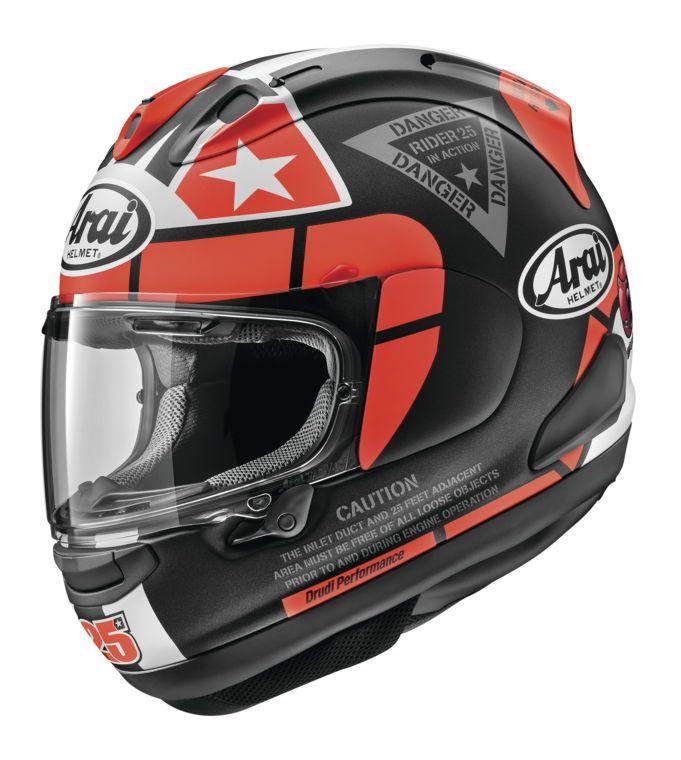arai corsair x vinales 2018 helmet cycle gear. Black Bedroom Furniture Sets. Home Design Ideas