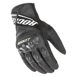 Joe Rocket Big Bang 2.1 Short Gloves HI VIS BLACK SHIPS FREE