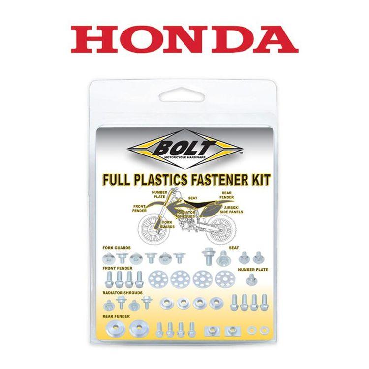 Bolt Hardware Full Plastics Fastener Kit Honda CRF250R / CRF450R 2009-2013