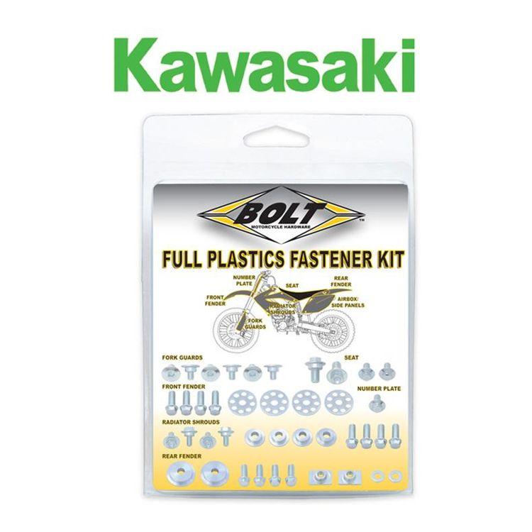 Bolt Hardware Full Plastics Fastener Kit Kawasaki KX250F / KX450F 2016-2018