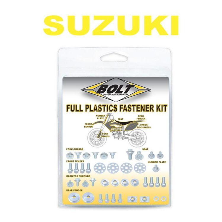 Bolt Hardware Full Plastics Fastener Kit Suzuki RM125 / RM250 2001-2008