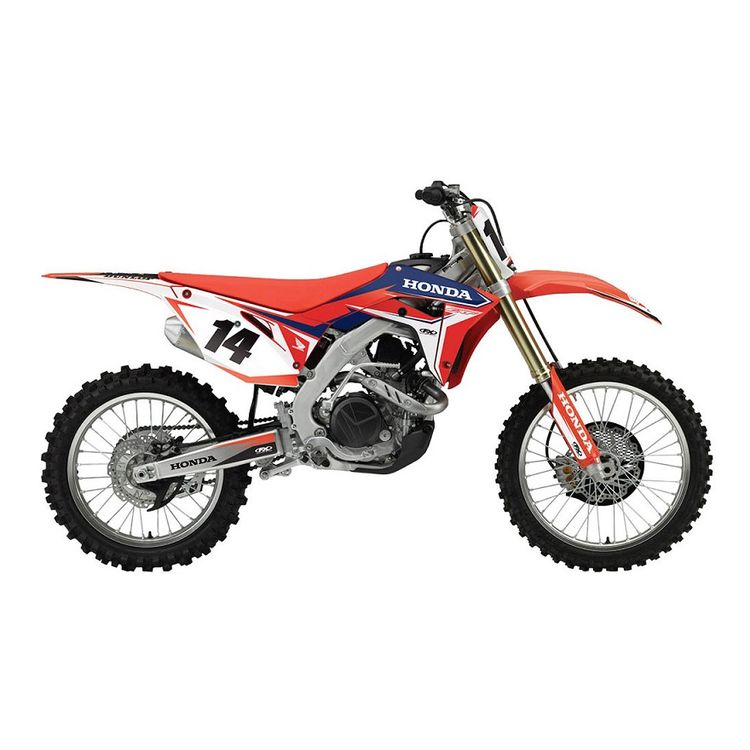 Factory Effex EVO 16 Shroud / Airbox Graphics Kit Honda CR125R / CR250R 1995-1997