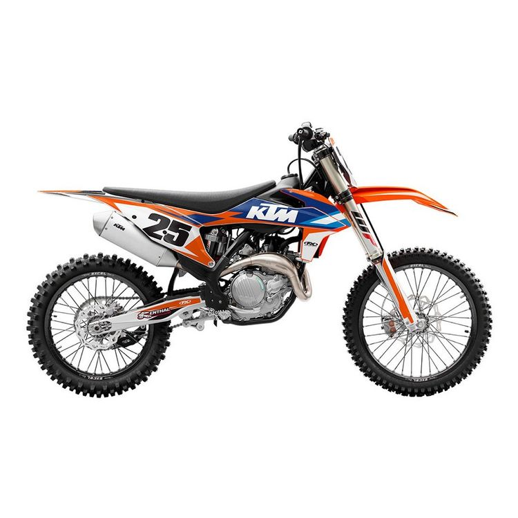 Factory Effex EVO 16 Shroud / Airbox Graphics Kit KTM 65 SX 2009-2015