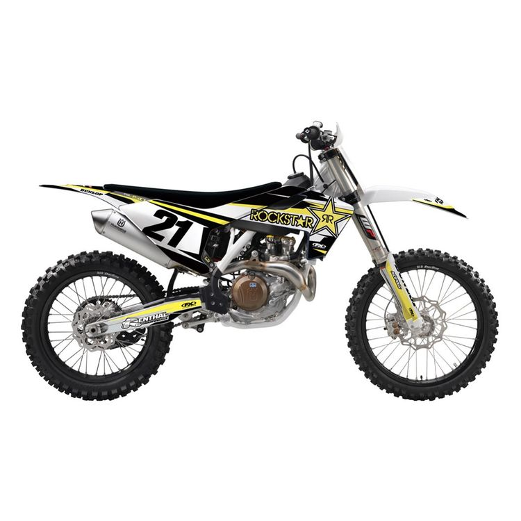 Factory Effex EVO 15 Shroud / Airbox Graphics Kit Husqvarna TC 85 2014-2017