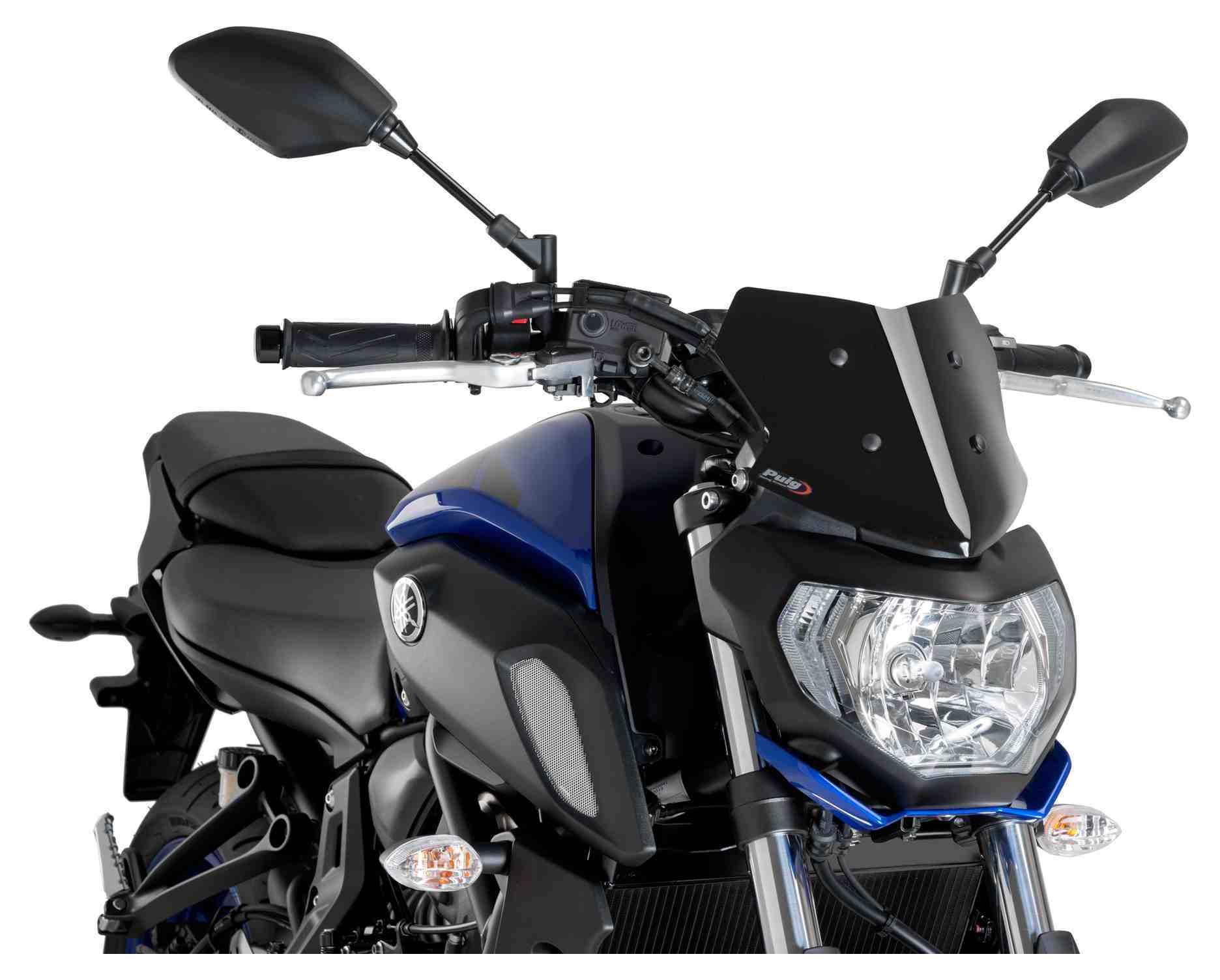 Puig Naked New Generation Windscreen Yamaha Mt 07 2018 2020