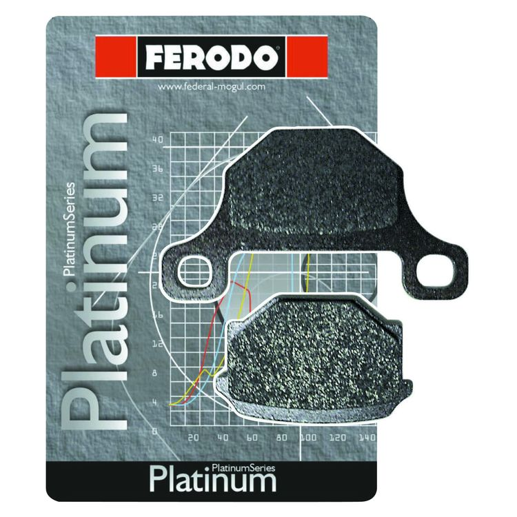Ferodo FDB2074P Platinum Rear Brake Pads
