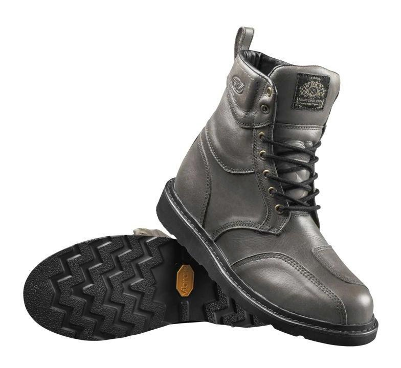 Pro Taper Handlebars >> Roland Sands Mojave Boots Whiskey and Grey (11) - Cycle Gear