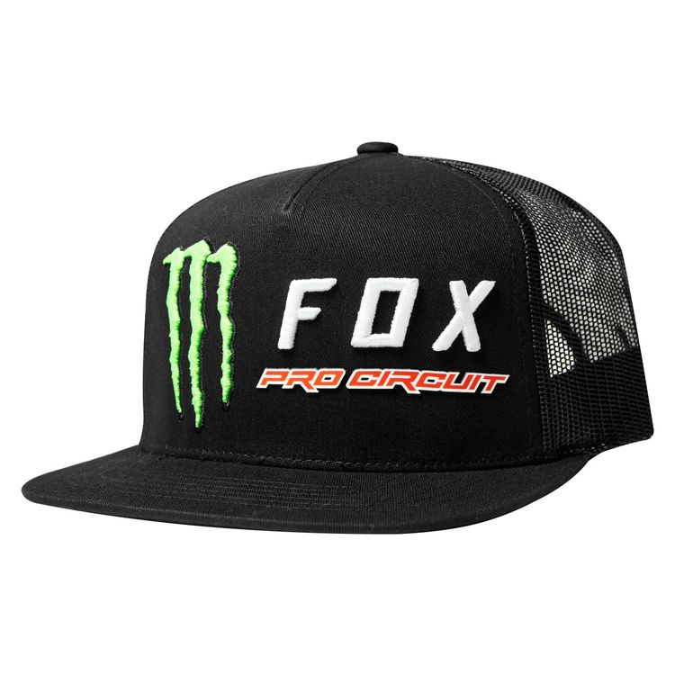 Fox Racing Monster Energy Pro Circuit Snapback Hat. Write a Review. Black 9a189532fb6