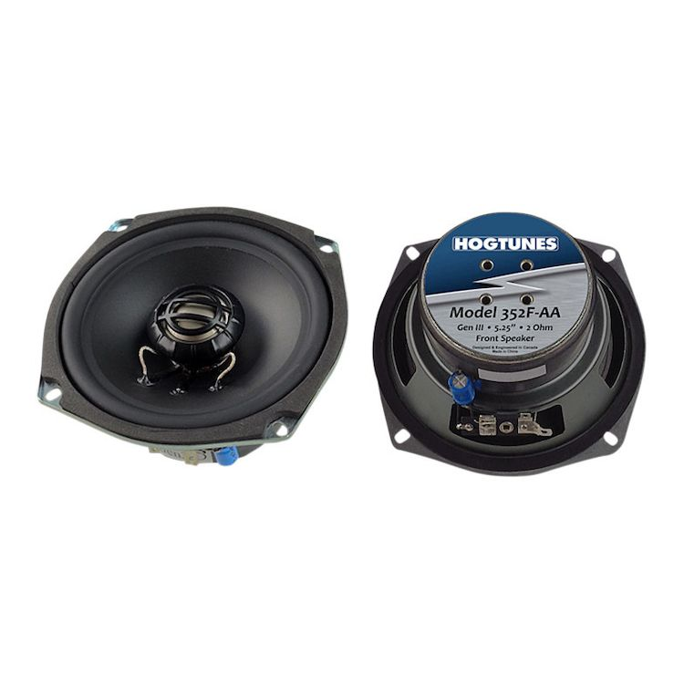 Hogtunes Gen 3 Replacement Speakers For Harley Touring 2006-2013