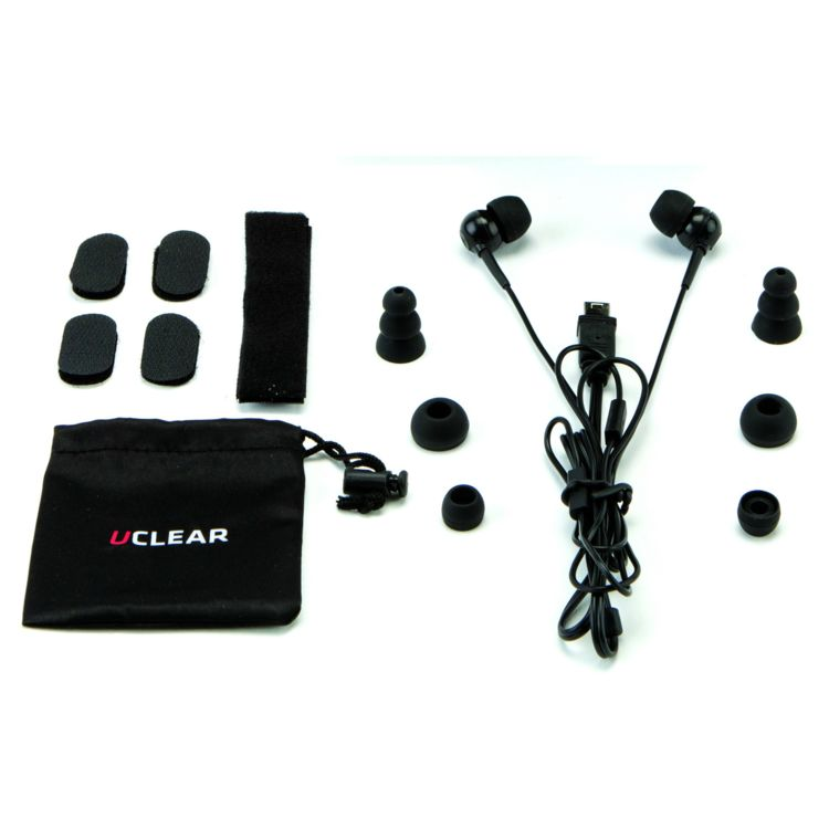 UCLEAR Short Earbuds For AMP And HBC Series