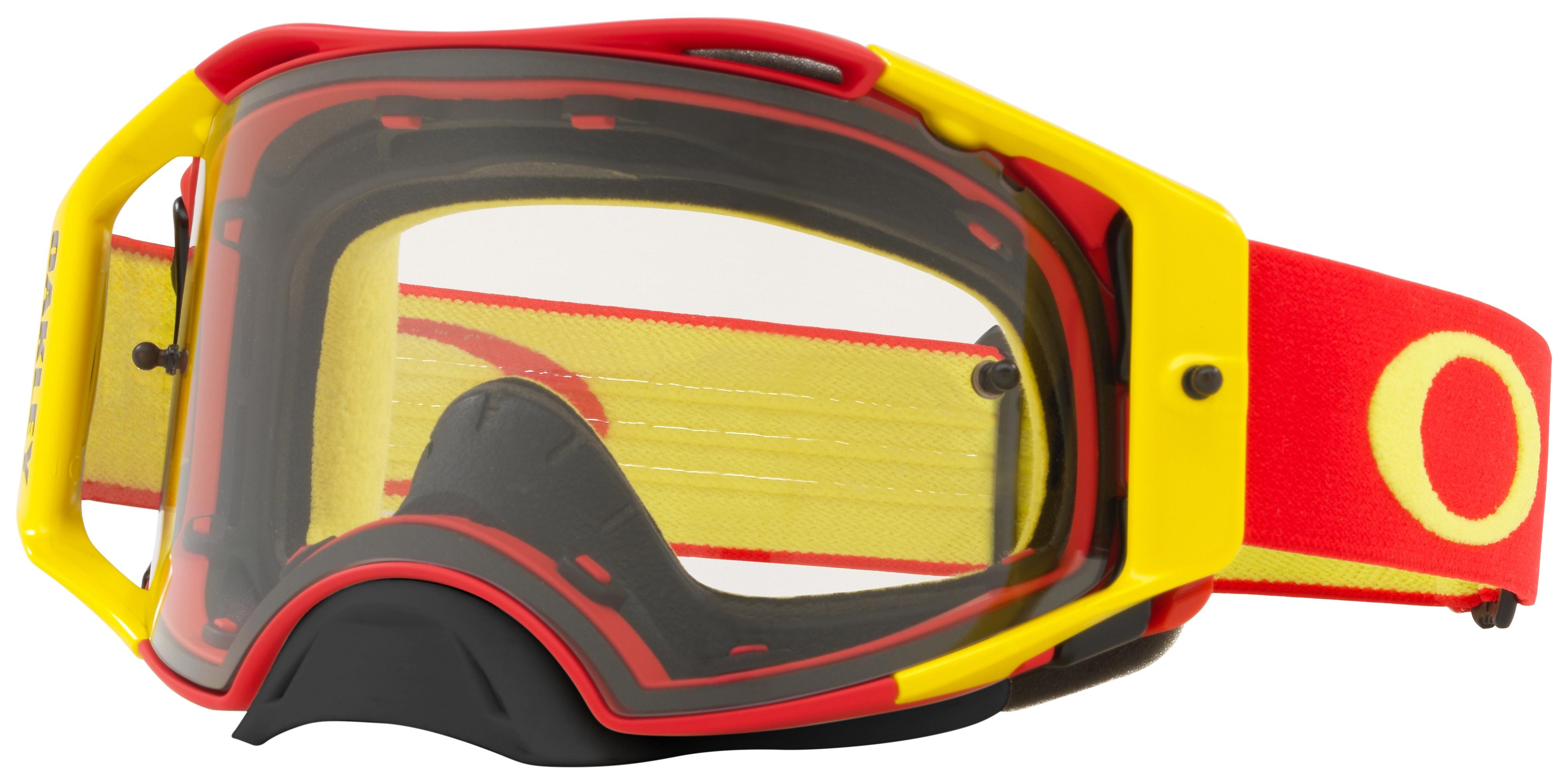 96b5eca0db Oakley Airbrake MX Goggles - Cycle Gear
