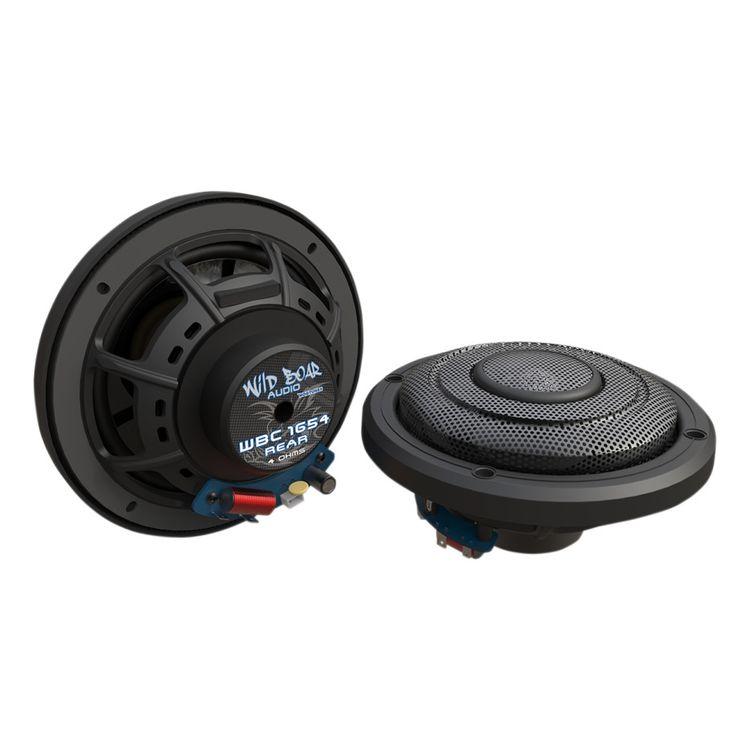"Wild Boar By Hogtunes 6.5"" Rear Speakers For Harley Touring 2014-2019"