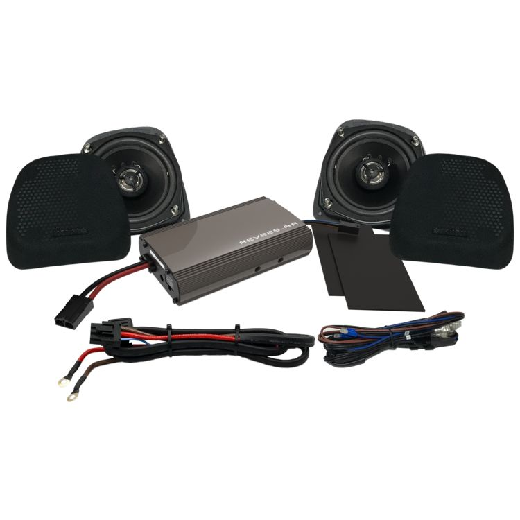 Hogtunes Lower Speakers & 225 Watt Amp Kit For Harley Ultra 1998-2013